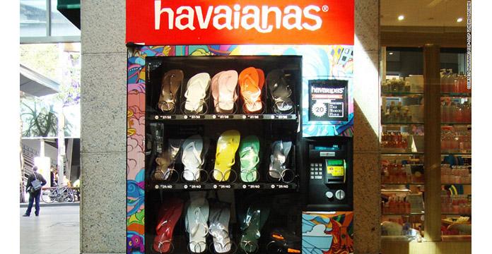 Havaiana Vending Machine