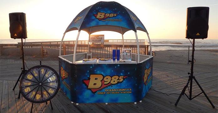 Radio Station Beach Tent